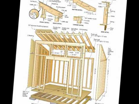 Free 10x12 shed plans pdf ~ wooden motorbike shed.
