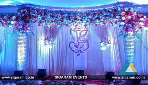 Engagement Stage Decoration at Bon Sejour Hotel