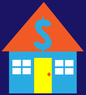English: illustration clip art of house with d...