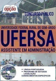 Apostila Concurso Universidade Federal Rural do Semiárido RN Assistente Administrativo