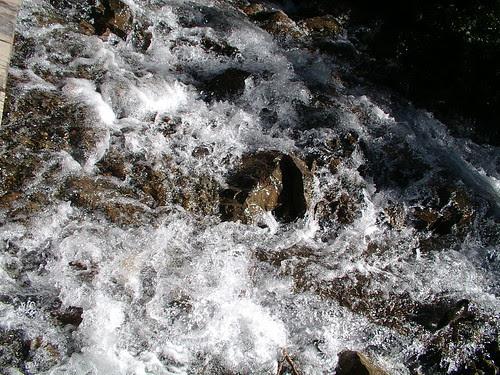 river rushing bye