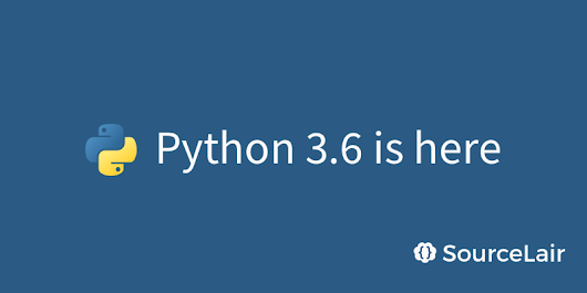 Announcing Python 3.6 projects | SourceLair Blog