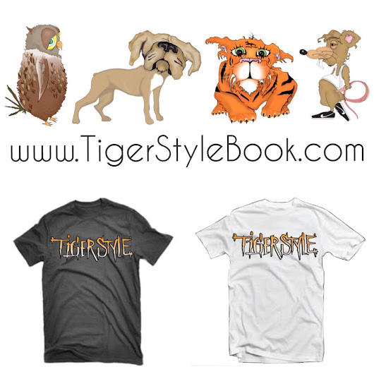 "Tiger Style on Twitter: ""Tiger Style T-Shirts are now available on the website!  """