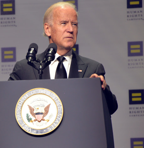 Joe Biden condemns arrest of gay men in Chechnya
