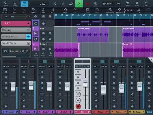 Cubasis update - new features and sale time for Steinberg's brilliant iOS DAW/sequencer - Music App Blog