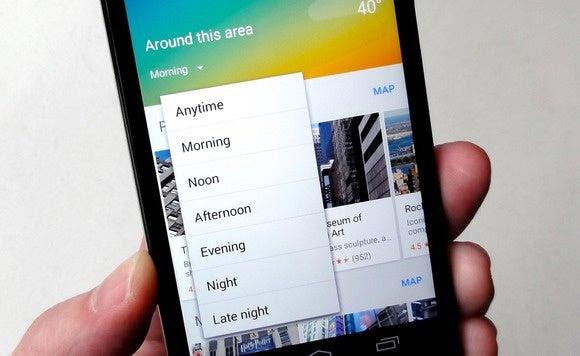 google maps app around this area time change 4