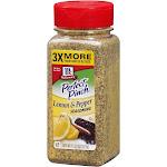 McCormick Perfect Pinch Seasoning, Lemon & Pepper - 11.37 oz