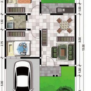 88 Foto Desain Rumah Minimalis Ukuran 5X10 HD Gratid Yang Bisa Anda Tiru
