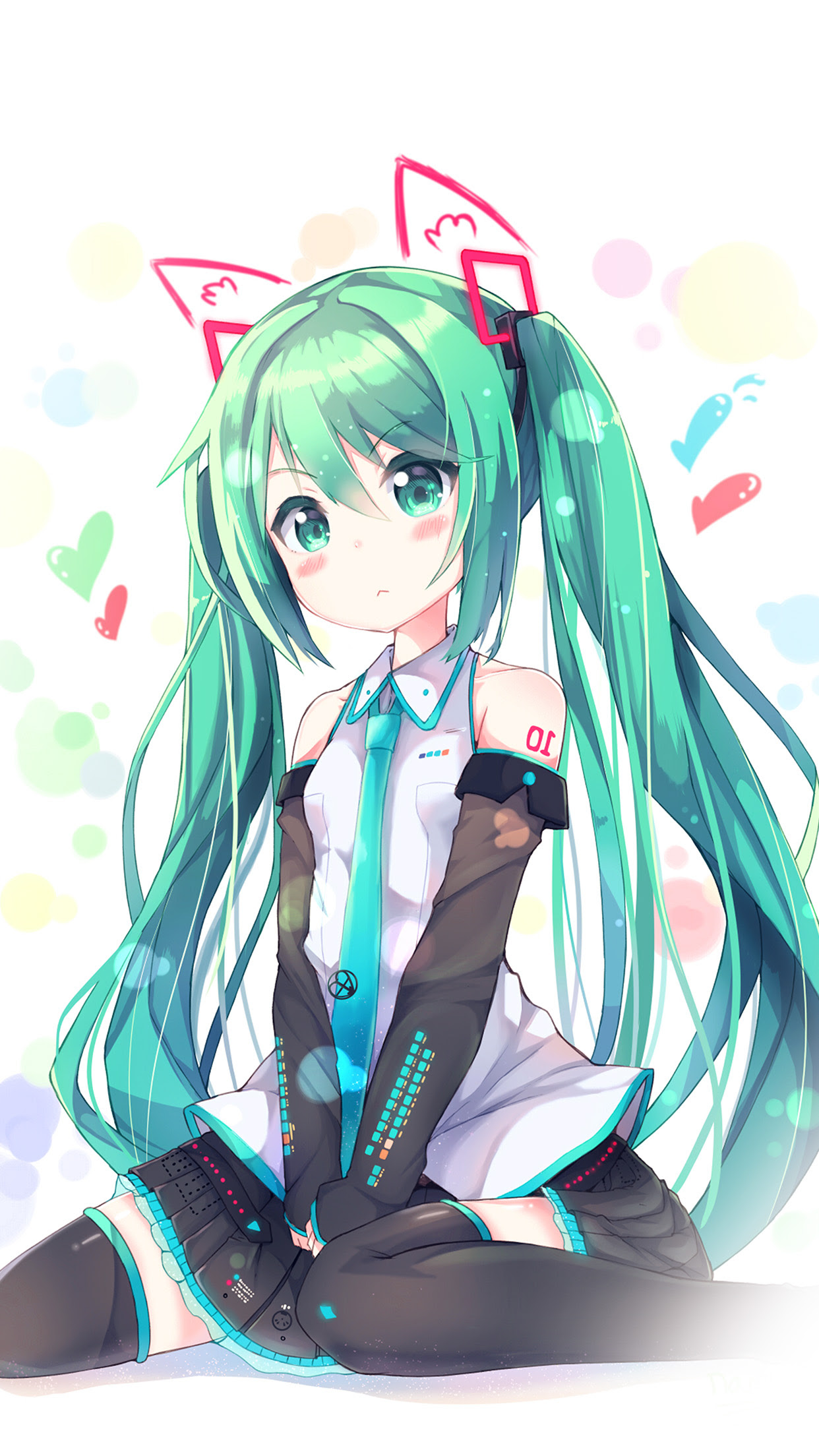 Iphone7papers Com Iphone7 Wallpaper Aw87 Hatsune Milk Anime