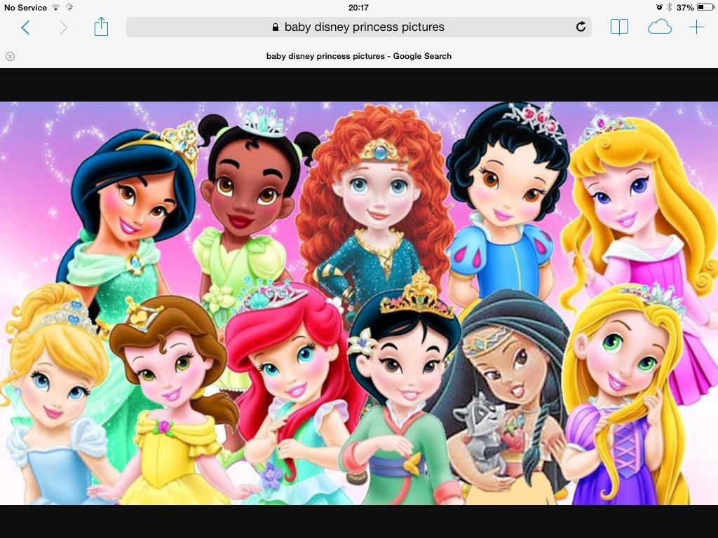Little disney princesses how cute! - little disney ...