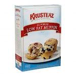 Continental Mills Krusteaz Variety Muffin Mix W/ 50% Less Fat (4.5 lbs, 6/Case)