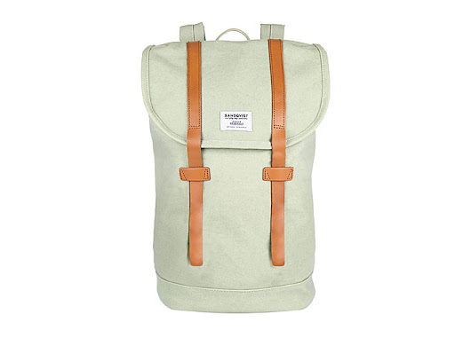 Sandqvist backpacks: Swedish Sage Green Collection