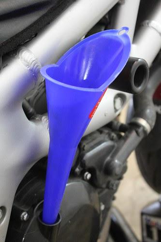SV650 Oil Change