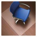 Lorell LLR82825 Hard Floor Chairmat Rectangular36 in. x 48 in. Clear