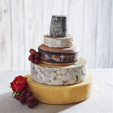 ?Amber? Cheese Wedding Cake ? The Courtyard Dairy.