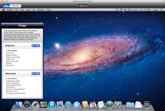 It's About Time Launches Hello Tutorials For Mac, The Reinvented OS X Manual -- AppAdvice