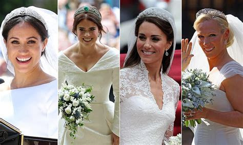 Wedding hair and makeup inspiration from royal brides Kate