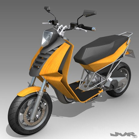 My Motorcycles News: ION - electric sportbike prototype is