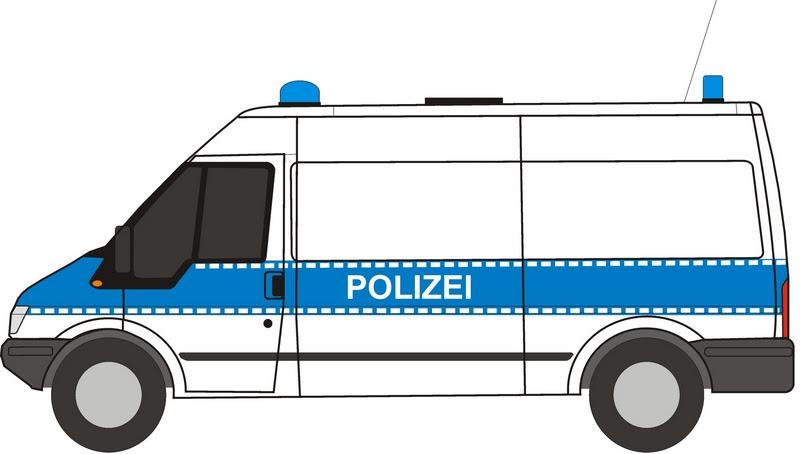 polizei lkw zum ausmalen  malvorlagen