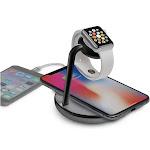 Kanex GoPower Watch Stand with Wireless Charging Base Wireless charging mat - wireless charging