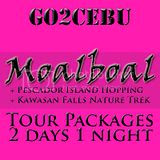 Moalboal + Pescador Island Hopping + Kawasan Falls Nature Trek Tour Itinerary 2 Days 1 Night Package