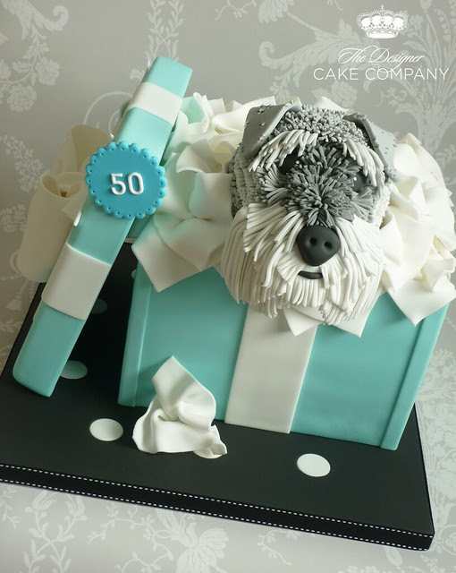 50th wedding anniversary gift box cake This cake was made for my friend 39s
