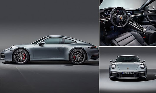 New Porsche 911 tells owners how to 'offset' their carbon footprint | Daily Mail Online