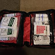 Amazon.com:      ColumbusMommy's review of First Aid Kit Bag Over 100 pieces for Trav...