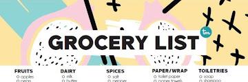 Printable Walmart Grocery List By Aisle