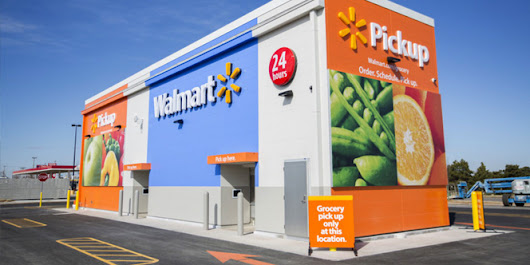 Walmart expands test of giant automated grocery kiosk