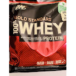 Optimum Nutrition Gold Standard 100% Whey Protein, Vanilla - 5.46 lb bag