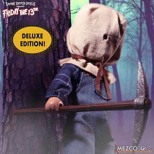 Deluxe Edition Living Dead Dolls Friday The 13th Part II: Jason Voorhees | Ed Johnson Presents NERD