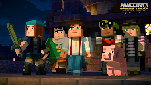Giving Minecraft a story