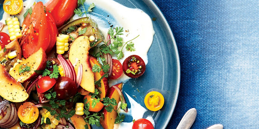 Summer Dinner Ideas and Recipes for Peaches and Tomatoes | Epicurious.com