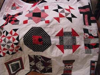 red/black whole quilt done!