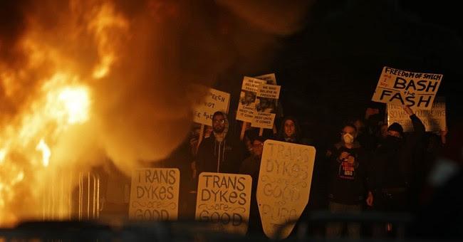 Video: Berkeley's 'Anti-Fascism' Protesters Embrace Fascism to Shut Down Free Speech