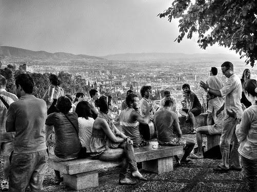 esperando el atardecer... by vite_fotografia