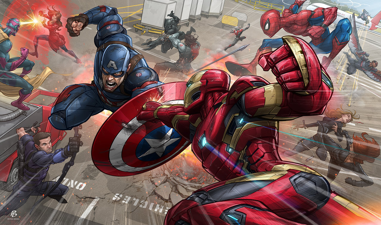 Captain America: Civil War by Patrick Brown