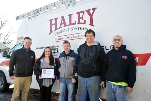 Bryant Community Heroes Winner Announcement - Haley Comfort Systems