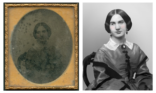 Ambrotype Photo Restoration