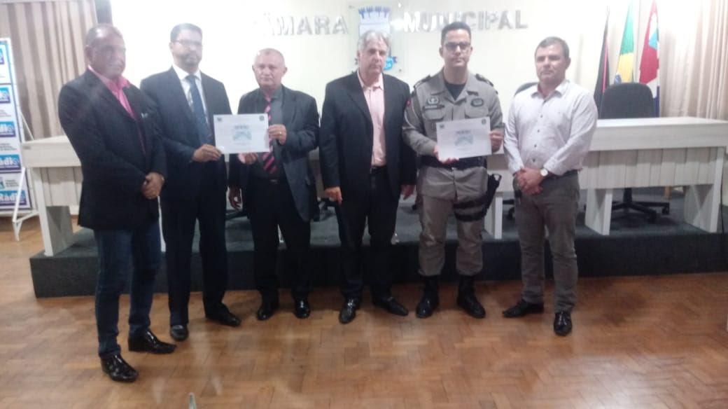 """Câmara municipal de vereadores de Monteiro promove sessão especial solene com o tema """"SEGURANÇA PÚBLICA"""""""