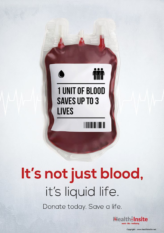 It's World Blood Donor Day