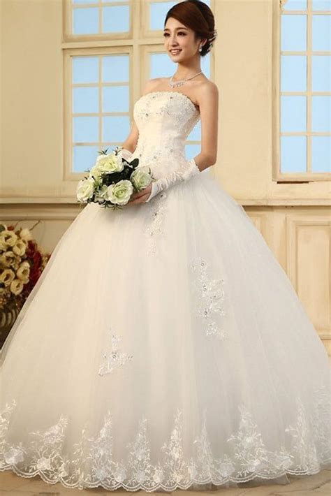 Gorgeous Princess Diamond Embellished Strapless Off The
