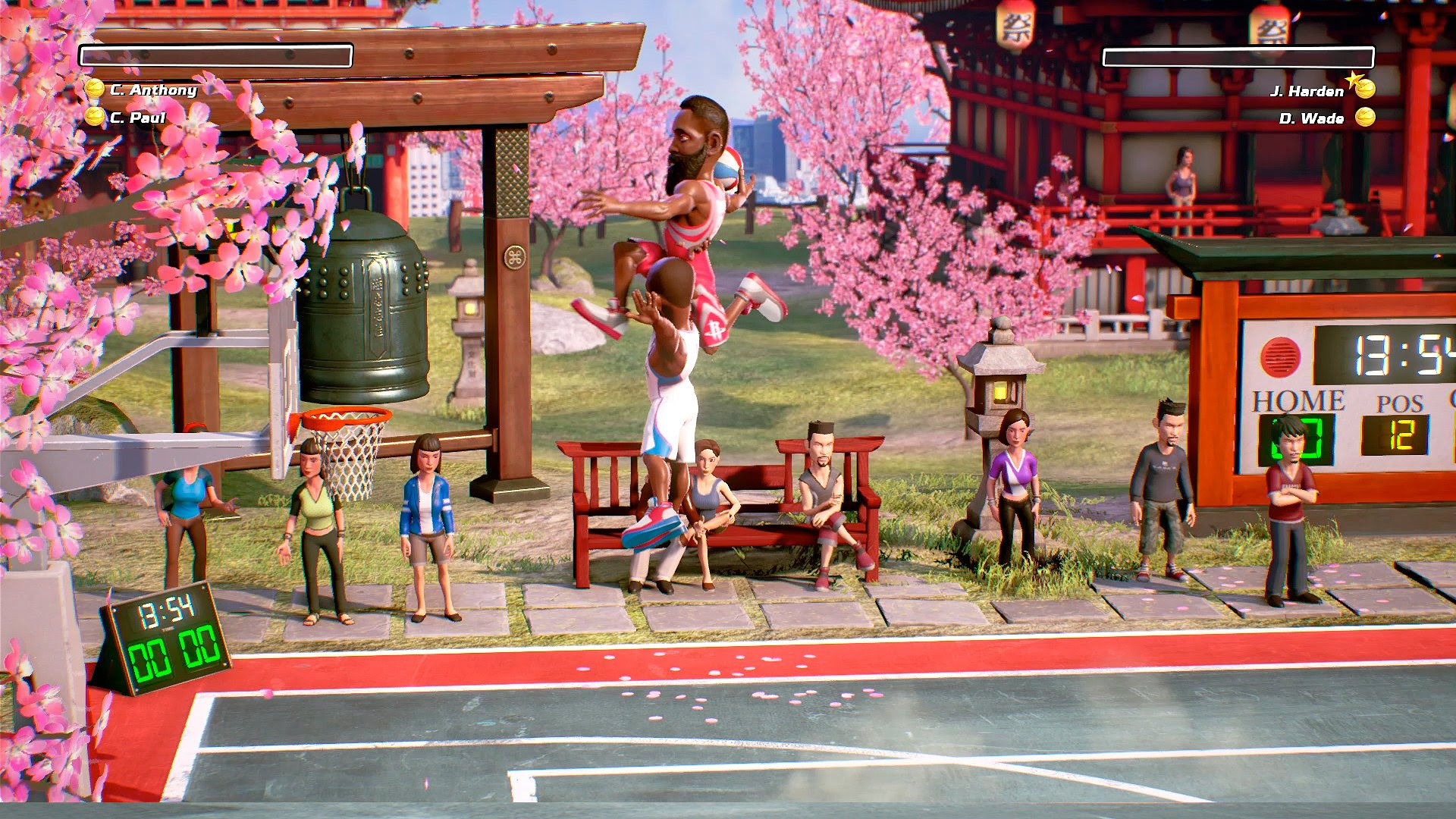 NBA Playgrounds now has online play on Nintendo Switch screenshot