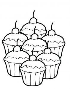1 Sınıf Boyama Kağıtları Etkinlikleri Gül Cupcake Winnie The