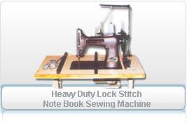 Heavy Duty Lock Stitch Note Book Sewing Machine by rmpanchalindia