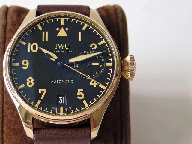 Replica IWC Big Pilot Bronze Case