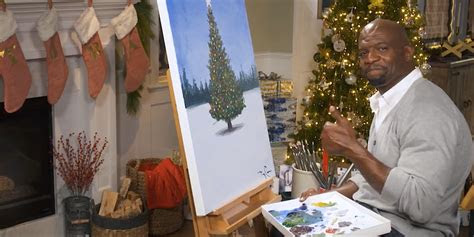 nbc   terry crews painting  front