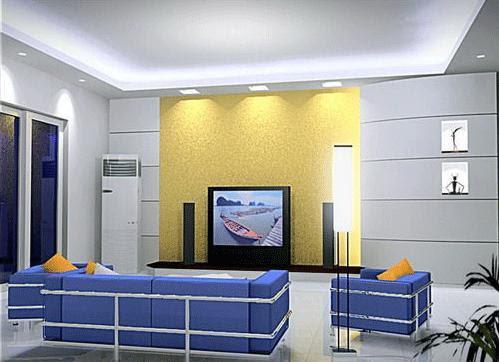 Living Room Lighting Options - Recessed Lighting, Track Lighting ...