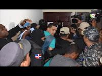 Foto crónica: Rueda de prensa de la DNCD y la coerción de Buche en Baní
